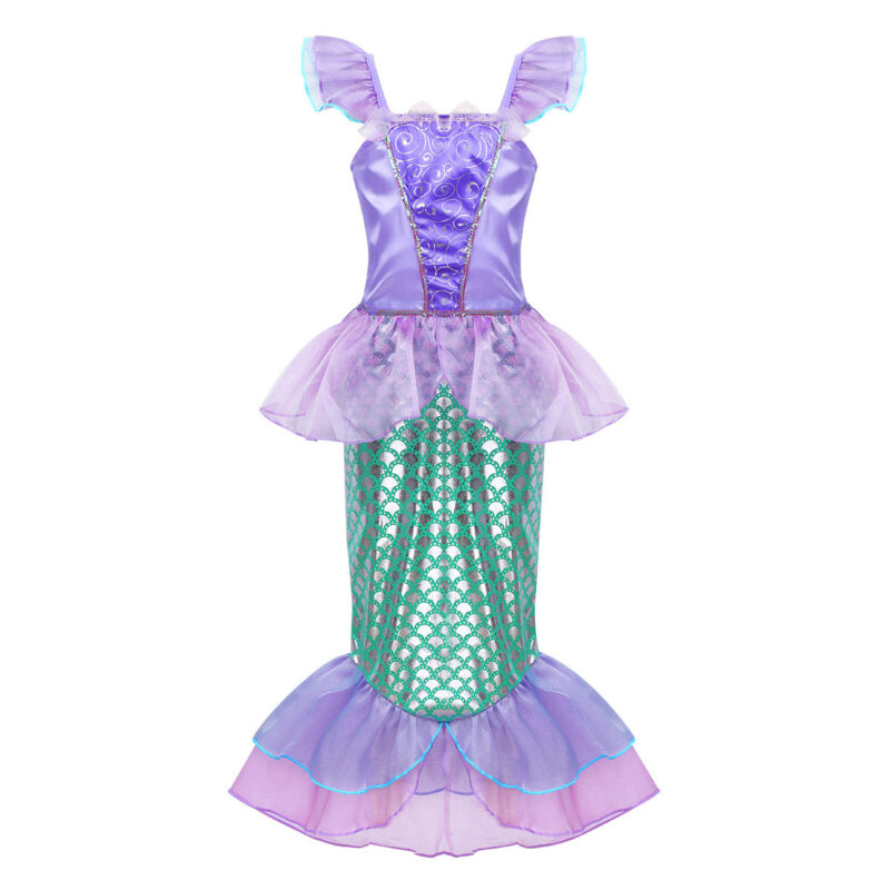 17b7e25429 Set Include: 1Pc Mermaid Skirt Condition: New with tag. Material:  Polyamide, Sequin Color: Multicolor(as pictures show)