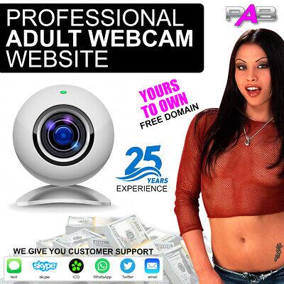 Adult Turnkey Webcam Website Over 100000 Live Members Make Money