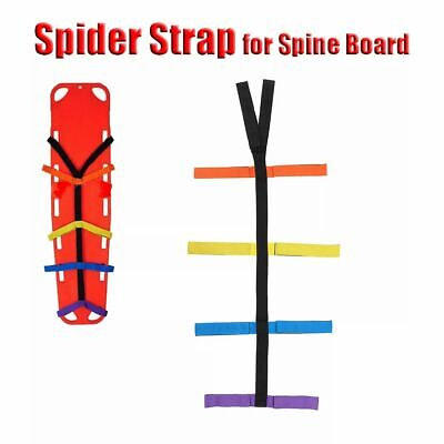 Adjustable Spine Support Board Immobilization Stretcher Spiders Strap Fixation S
