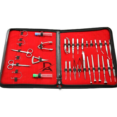 32pcs Ophthalmic Cataract Eye Micro Surgery Surgical Instruments Set By Rtf