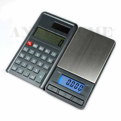 Precision Scale + Calculator 200g x 0.01g  Digital Pocket Scale 0.01 gram