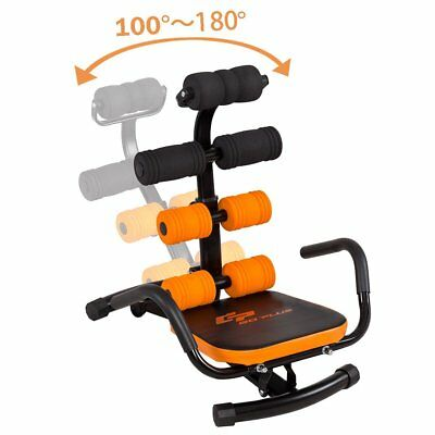 Adjustable Ab Workout Incline Equipment Rocket Exercise Trainer Chair Abdominal for sale  USA