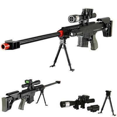 "*315 FPS* Airsoft Sniper Rifle Gun - FULL TACTICAL SETUP - 38"" LONG - ! WOW !"