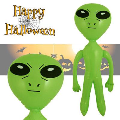 Aufblasbarer Alien aufblasbares Gespenst Ausserirdischer Karneval Deko Fasching