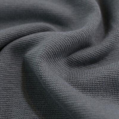 1,5m Bündchen Schlauchware Stoff 1B-Ware Weich Blickdicht Elastisch Jersey