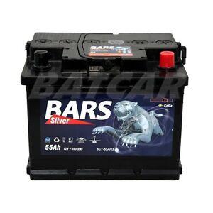 starterbatterie autobatterie 12v 55ah 480a en bars ebay. Black Bedroom Furniture Sets. Home Design Ideas