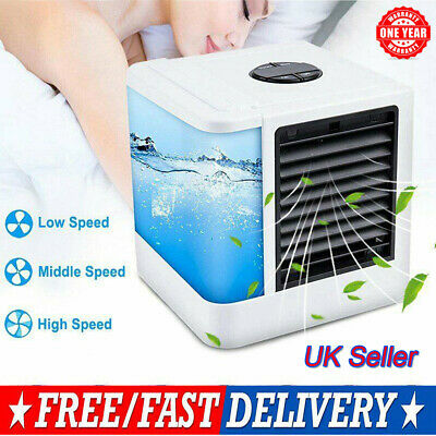 Low Noise Mini Air Conditioner Ice Water Home Cooler System Portable Cooling Fan