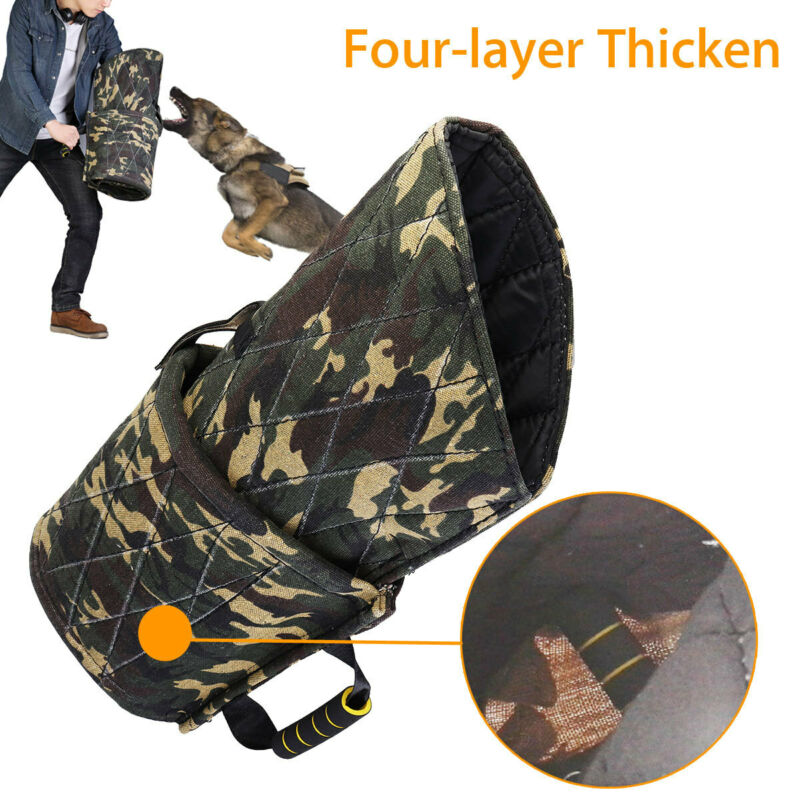 Camouflage Young Dog Training Dog Bite Sleeve Thickened Arm Protection Durable !