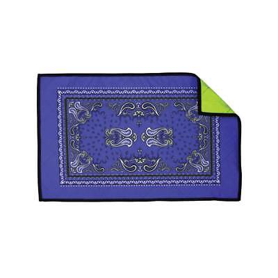 Exalt Paintball Microfiber Goggle Cloth - Player Size - Blue Bandana Paintball Player Clothes