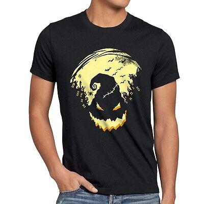 Boogie Man Halloween Herren T-Shirt Nightmare Kostüm Party Monster Fasching top