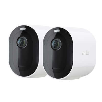 2 Pack Arlo Pro 3 Add-on Wire-Free 2K HDR Security Cameras & Battery