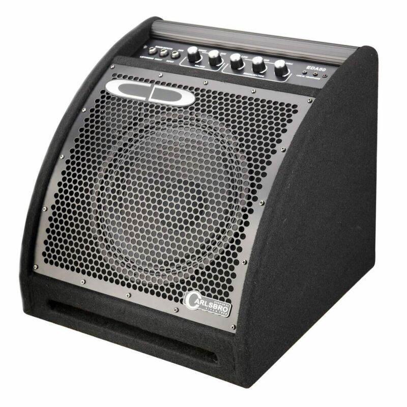 Carlsbro Drum Amplifier, Electric with Two Chanels and Aux Input 50W, EDA50