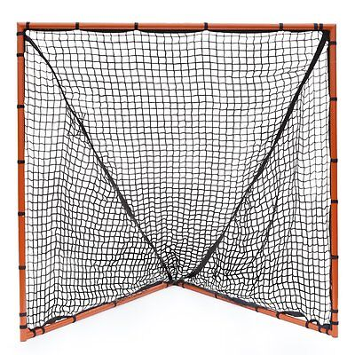 "New Champion Lacrosse 6'x6' Heavy Duty Full Size Goal 1.5"" Steel Tubes 2.5mm Net"