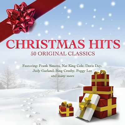 Christmas Hits VARIOUS ARTISTS Best Of 50 Songs CLASSIC HOLIDAY MUSIC New 2 (Best Classical Christmas Albums)