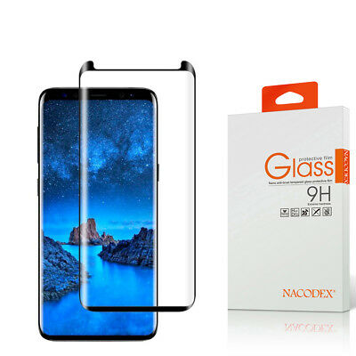 Nx For Samsung Galaxy S9 Plus 3D Full Cover Tempered Glass Screen Protector