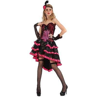 Saloon Girl (Saloon Girl  Cowgirl Western sexy Spitze Damen Fasching Karneval)