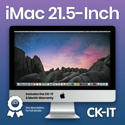"Apple iMac 21.5"" i5 2.7Ghz / 500GB  / 8GB / WARRANTY / Grade B / ref CH17"