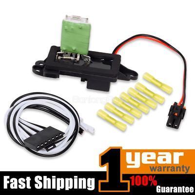 A/C Blower Motor Resistor w/ Plug & Pigtail For 99-06 Cadillac Escalade 89019088 (2000 Cadillac Escalade A/c)