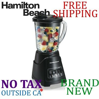 Hamilton Beach 58146 Power Elite Multi-Function Blender Blac