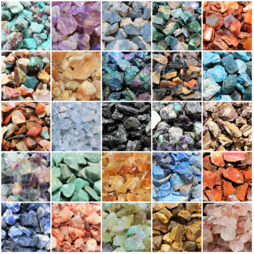 Natural Rough Stones Rocks - Huge Choice lbs or oz (Wholesale Bulk Lots)