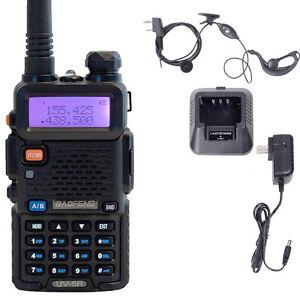 BAOFENG UV-5R VHF/UHF Dual Band Two Way Ham Radio Transceiver Walkie Talkie