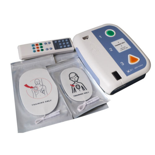 Automated External Defibrillator AED Trainer Device For CPR Training in Korean
