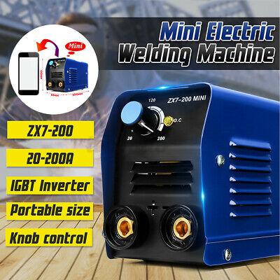 8pcs Kit 200a 220v Mini Arc Electric Welding Machine Igbt Inverter Stick Welder
