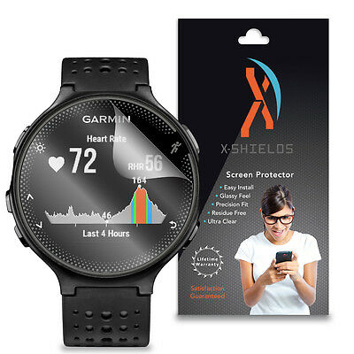XShields (5-Pack) Clear HD Screen Protector Skin Cover For Garmin Forerunner 235