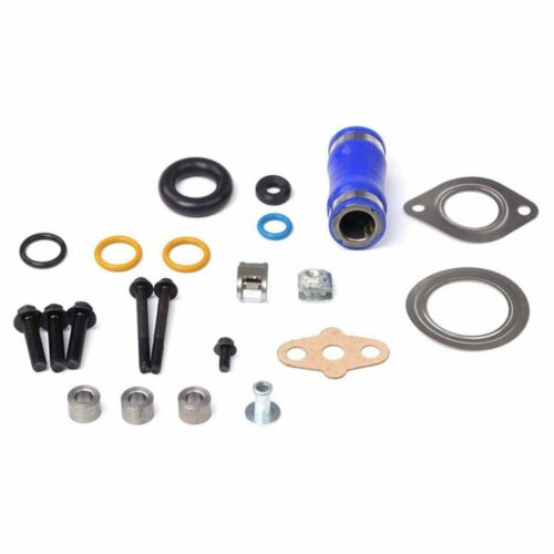 EGR Delete Kit,Professional Engine EGR Removal Kit Aluminum Alloy Bypass Removal Kit Fit for F250 F350 F450 F550