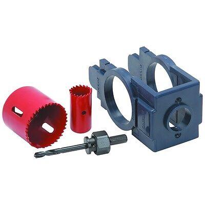 Door Lock Security Tool Installation Kit With 16 Gauge Steel Hole Saws