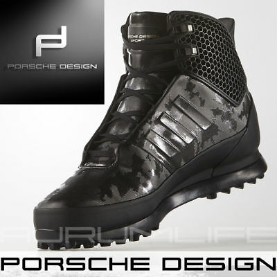 ADIDAS PORSCHE DESIGN Shoes Mens Winter Snow Bounce Tech Black Boot Size AQ3561