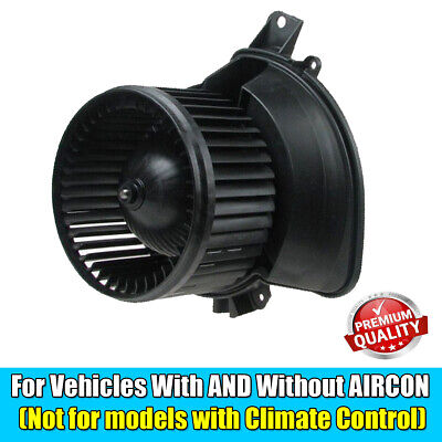 FIAT GRANDE PUNTO & CORSA D HEATER BLOWER FAN MOTOR ASSEMBLY