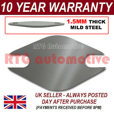 CITROEN SAXO MULTI FIT EGR VALVE BLANKING PLATE 1.5MM STEEL HA
