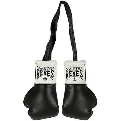 Cleto Reyes Miniature Pair of Boxing Gloves - Black