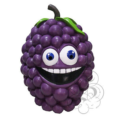 Latex Fruit Vine Grape Berry Funny Happy Face Cosplay Props Fancy Party - Funny Halloween Vine