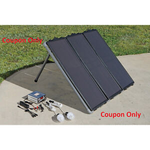 Harbor Freight COUPON Solar Panel Kit 45 Watt THUNDERBOLT SOLAR **SAVE $110.00**
