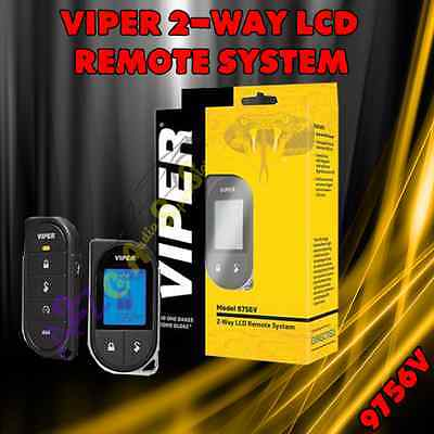 VIPER 9756V 2-Way LCD RF Remote Control Kit For 4X10, 5X10 And Viper Retro-Fit