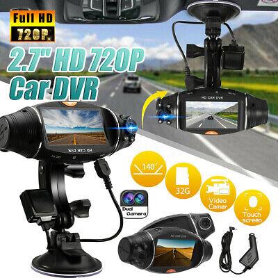 HD Dual Lens GPS Car DVR Camera Vehicle Dash Cam Video Recorder G-sensor Truck