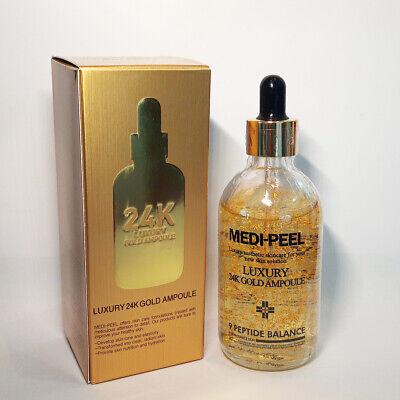 MEDI-PEEL Luxury 24K Gold Ampoule 100ml Serum Anti-Aging Anti-Wrinkle K-beauty