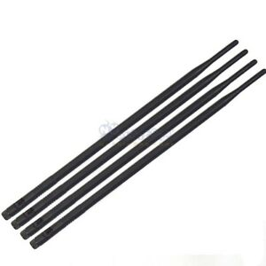 4 9dBi High Gain WiFi Antennas RP-SMA for Linksys Asus TP-Link D-Link Router