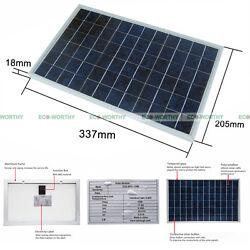 Solar Panel 10 Watt Sun Power - 10W 18V - PV Solar Moduel for 12V Battery Charge