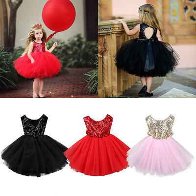 Toddler Flower Girls Sequins Backless Princess Dress for Wedding Birthday Party](Princess Dresses For Toddlers)