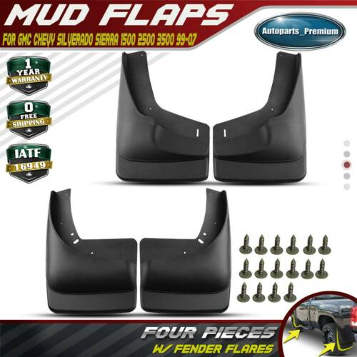 A-Premium Mud Flaps Splash Guards Compatible with Ford Taurus 2019-2020 Rear and Front 4-PC