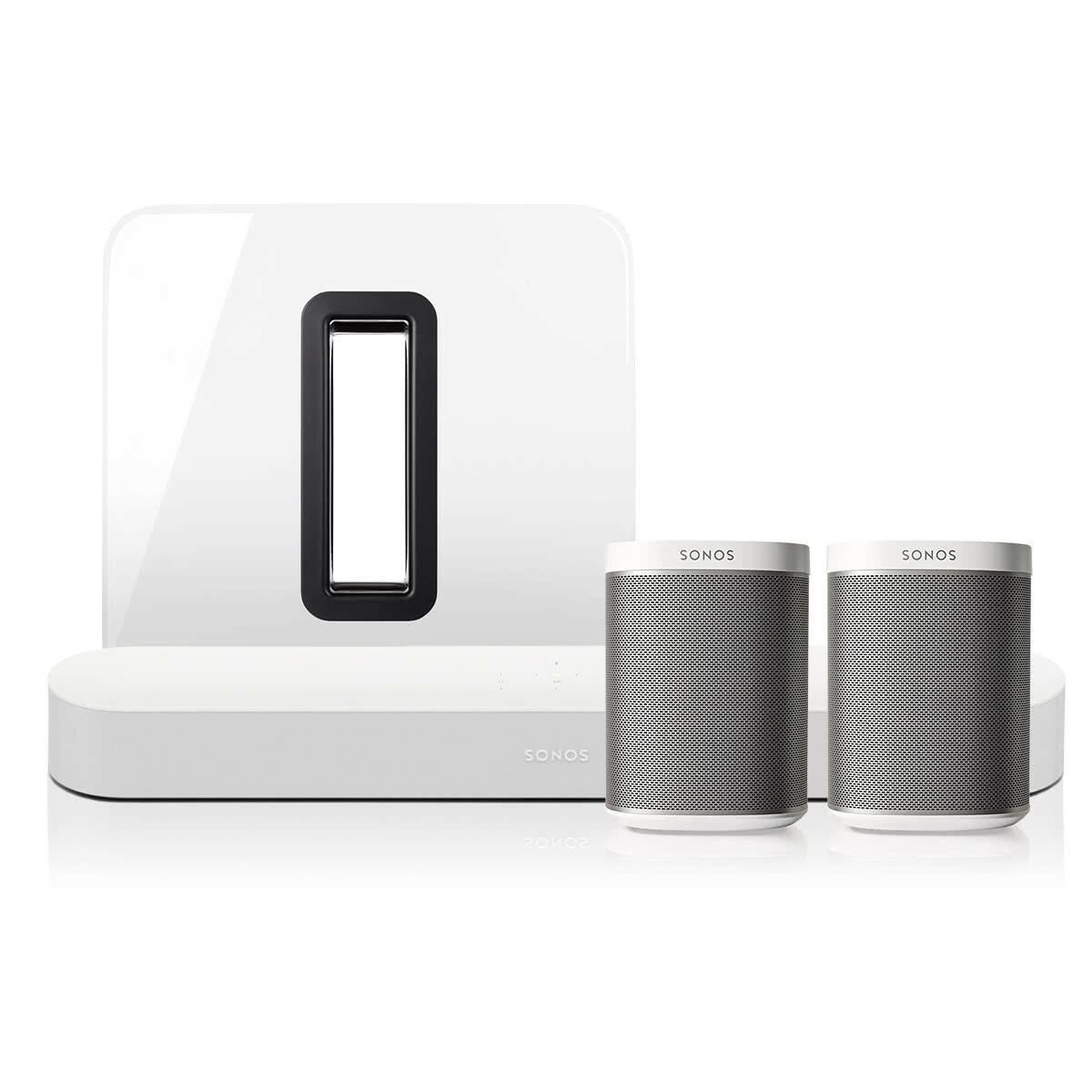 Sonos 5.1 Surround Set with Beam Soundbar and PLAY:1 & Sonos