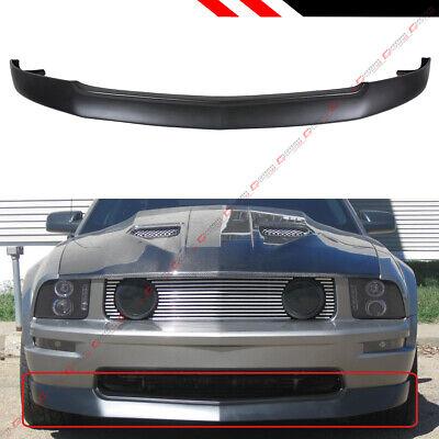 Spoiler Kit Mustang - FOR 2005-2009 FORD MUSTANG GT V8 FRONT BUMPER LIP CHIN SPOILER SPLITTER BODY KIT