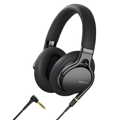 Sony MDR1AM2B Wired High-Res Over-Ear Headphones with Remote