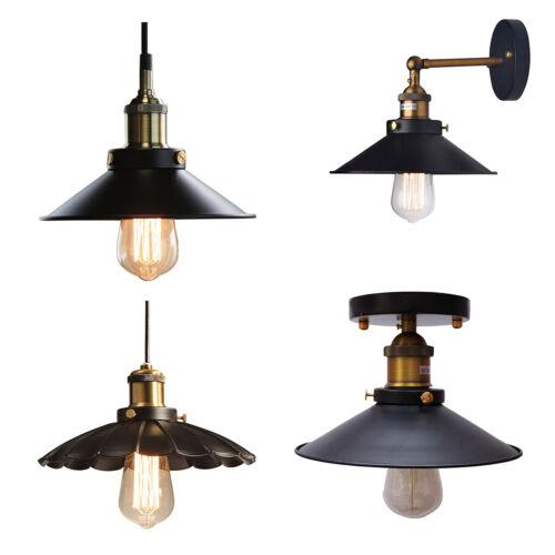 Vintage Industrial Retro Pendant Edison Light Fittings