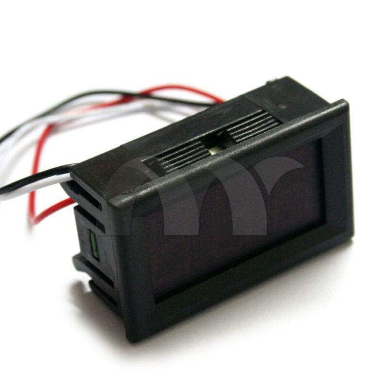 0-100V Voltmeter LED Panel WaterProof Mini DC Digital Display Volt Voltage Meter