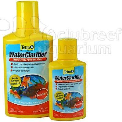 250 Ml Water Clarifier (WaterClarifier Tetra Clarifier Clears Cloudy Aquarium/Tank Water 100ml or 250ml )