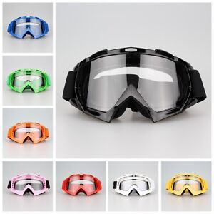 Snowmobile-Snowboard-Ski-Goggles-Eyewear-Off-Road-Sports-Glasses-Clear-Lens